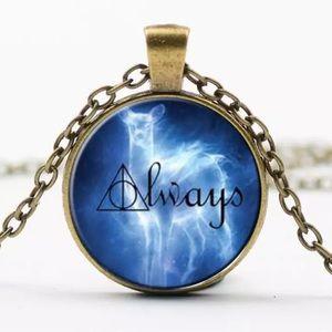 BOGO! Harry Potter Always Cabochon Necklace